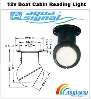 boat cabin wall light-boat cabin reading light