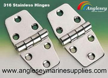 316 Stainless Steel Boat Hinges
