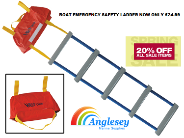 emergency boat sailing ladder rescue