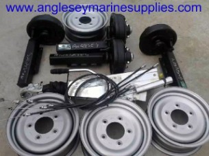 boat trailer parts wheels units