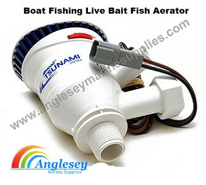 Boat Fishing Live Bait Fish Aerator