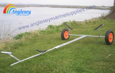 dinghy launching trolley launch boat