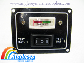 Battery Testing Boat Switch Panel