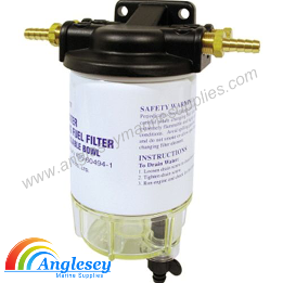 Boat Fuel Filter With Housing