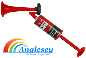 hand operated air horn pump boat emergency