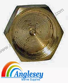 Imperial Brass Compression Fitting Blanking Nut