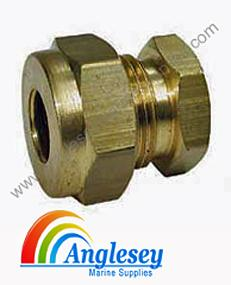 Imperial Brass Compression Fitting Stop End