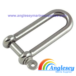 Stainless Steel Long D Shackles