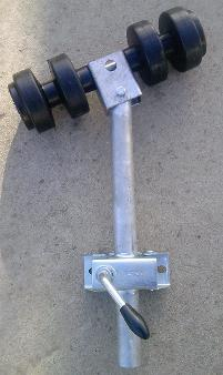 boat trailer side roller double