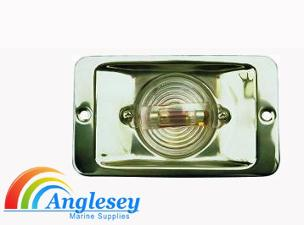 boat transom stern navigation light stern stainless steel