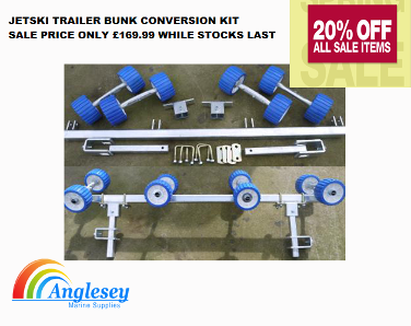 BOAT ROLLER CARRIAGE JETSKI CONVERSION KIT