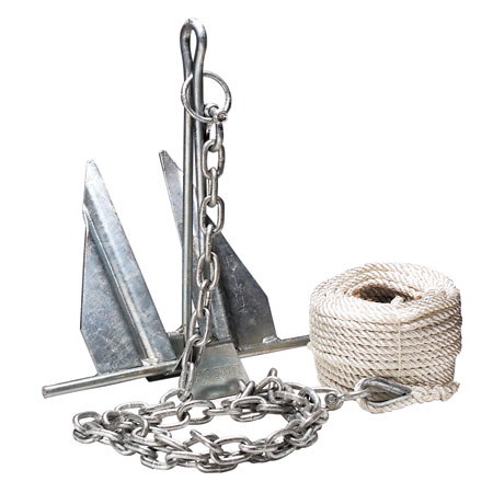 4kg boat folding anchor kit