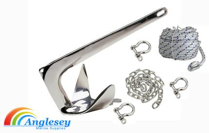 Stainless Steel Boat Anchors Kit