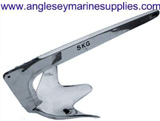 Stainless Steel Force Boat Anchor