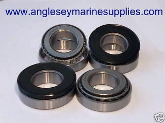 boat trailer wheel taper roller bearings