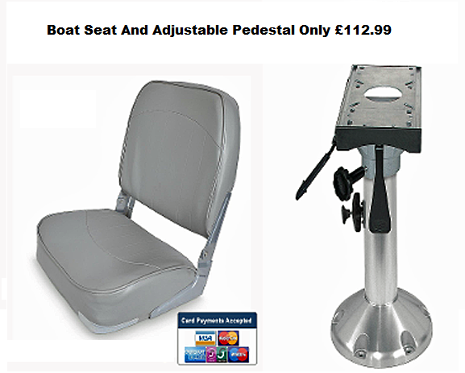 boat seat and pedestal