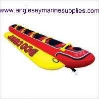 Jumbo Hot Dog Water-Ski Inflatable Toy