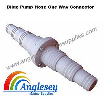 bilge pump hose non return valve