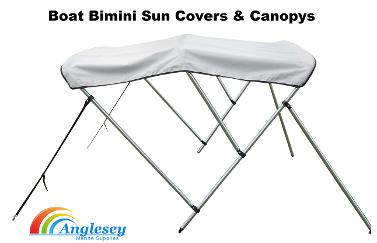 bimini boat sun cover canopy anglesey marine supplies