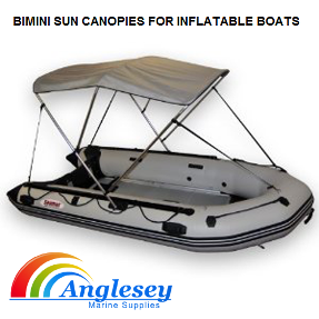 Bimini Boat Sun Cover For Inflatable Boats 2 Arch