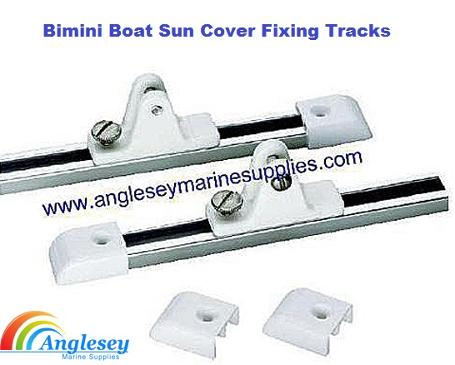 bimini boat sun cover fixing tracks