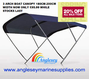 Bimini boat sun canopies you wont get cheaper  sc 1 st  Anglesey Marine Supplies & Anglesey Marine Supplies February March 20 percent off sale