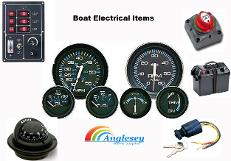 boat electrics-boat ignition switches-boat clocks-boat gauges