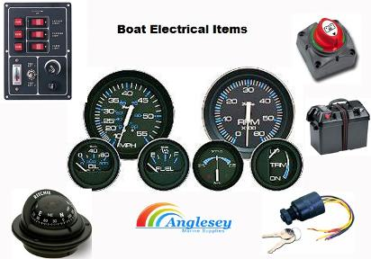 Boat Electrics-Boat Switch Panel-Boat Clocks-Boat Gauges