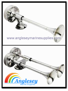 Stainless Steel Trumpet Boat Horns