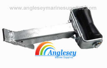 boat trailer keel roller bow support trailer