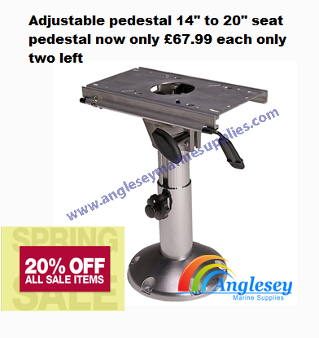 boat seat stand pedestal swivel