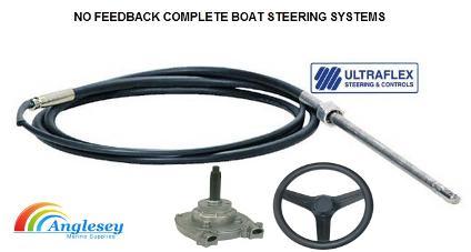 Boat Steering Cables Boat Steering Wheels Boat Steering Kit