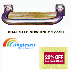 boat step wood inlay stainless steel