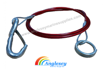 Boat Trailer Breakaway Cable