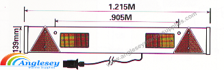Boat Trailer Lighting Board