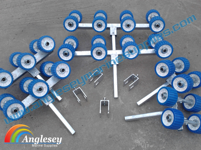 boat trailer rollers non marking conversion kit