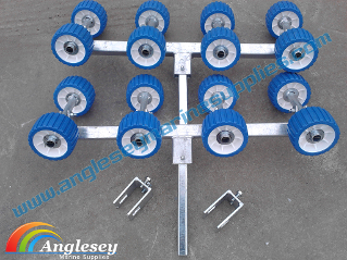 boat trailer rollers conversion kit rollers boat trailer carriages wobble non marking plastic polyurethane