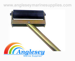 boat trailer side roller rubber bracket support pole 8