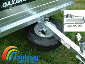 boat  trailer spare wheel carrier