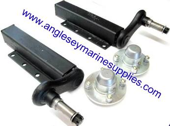 boat trailer suspension units