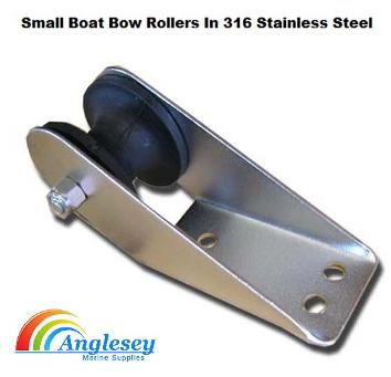 boat bow roller stainless steel
