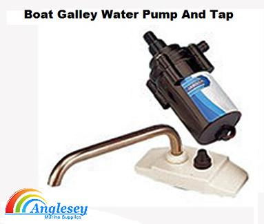 boat cabin galley pump and tap 12v