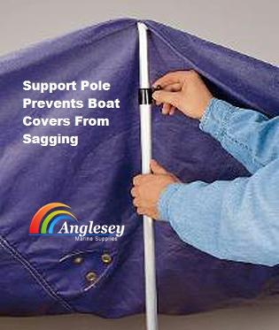 boat cover pole