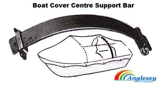 boat cover support bar