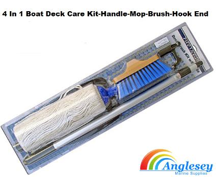 boat deck kit brush mop handle hook