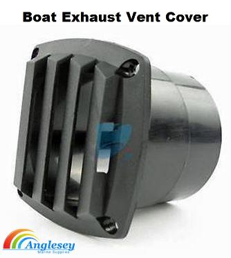 boat engine exhaust vent cover