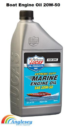boat engine oil 20w 50