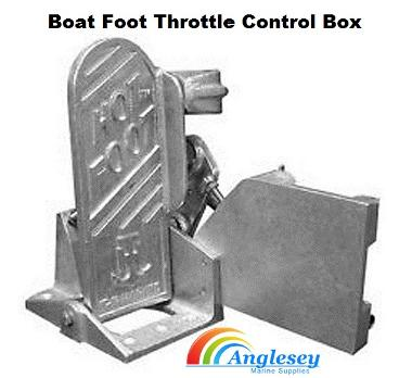 boat foot throttle