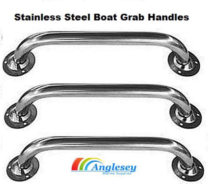 500mm STAINLESS STEEL MARINE DECK HAND RAIL boat grab handle yacht door