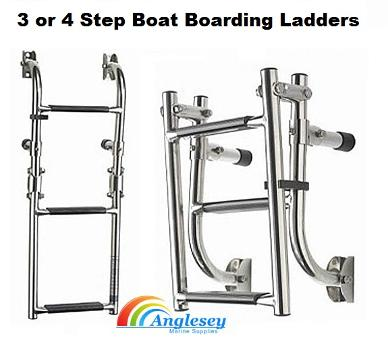 boat ladders four step folding